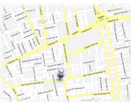 خريطة الموقع